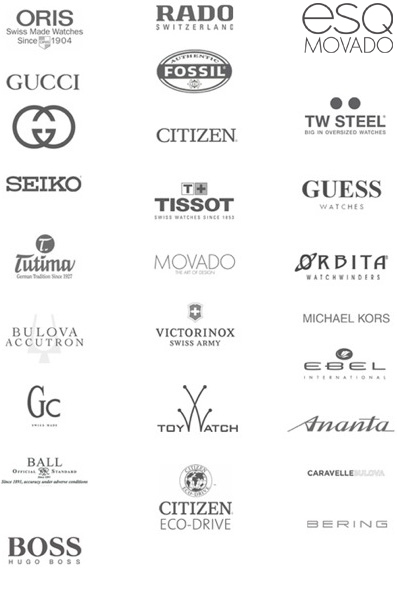 Famous Watch Brands Logos